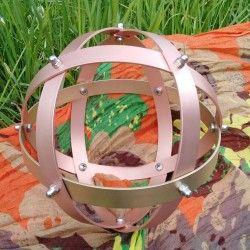 Genesa Crystal Sinergia rame ottone 20 cm