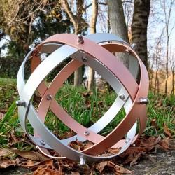 Genesa Crystal ESSENTIA alluminio rame_20 cm